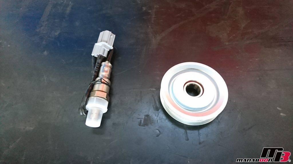 シビックタイプR(EK9)O2センサー交換画像