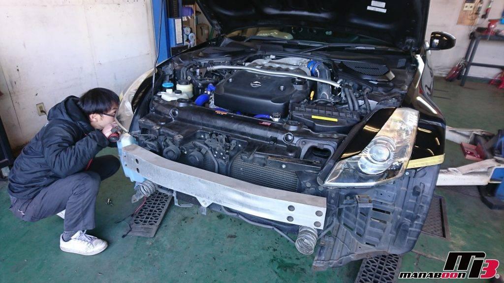 フェアレディZ(Z33)保険修理依頼画像