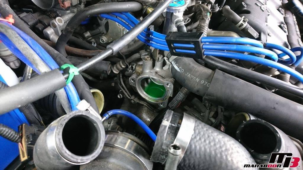 GTO(Z15A)サーモスタット交換画像