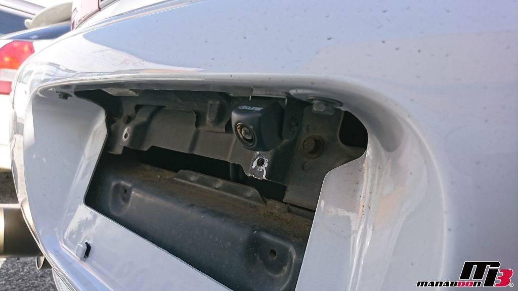 GTO(Z15A)バックカメラ取付画像