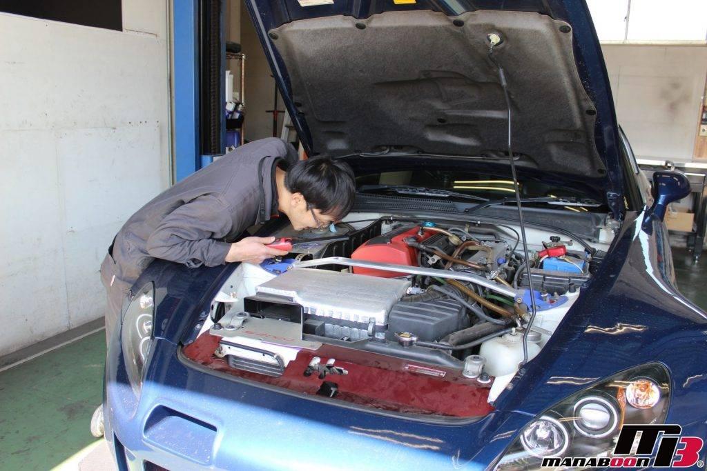 改造車の車検点検整備画像