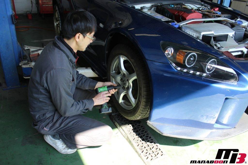 スポーツカー車検点検整備画像