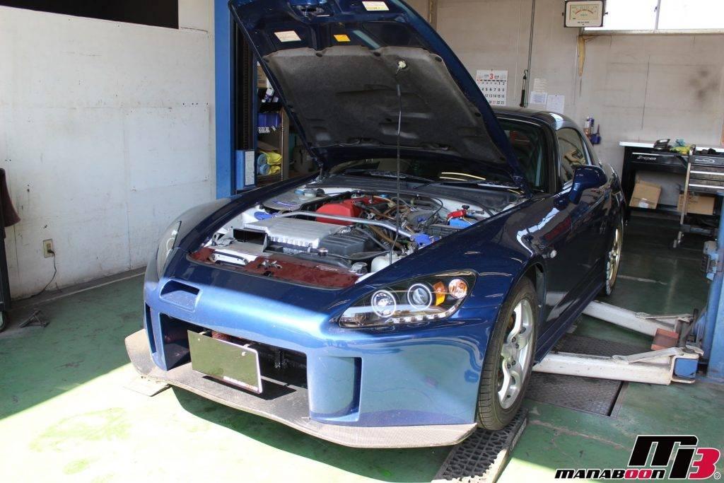 チューニングカー車検点検整備画像