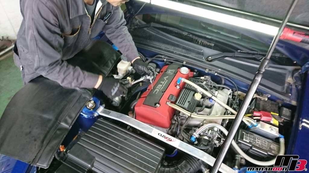 S2000(AP1)バルブカバーガスケット交換画像