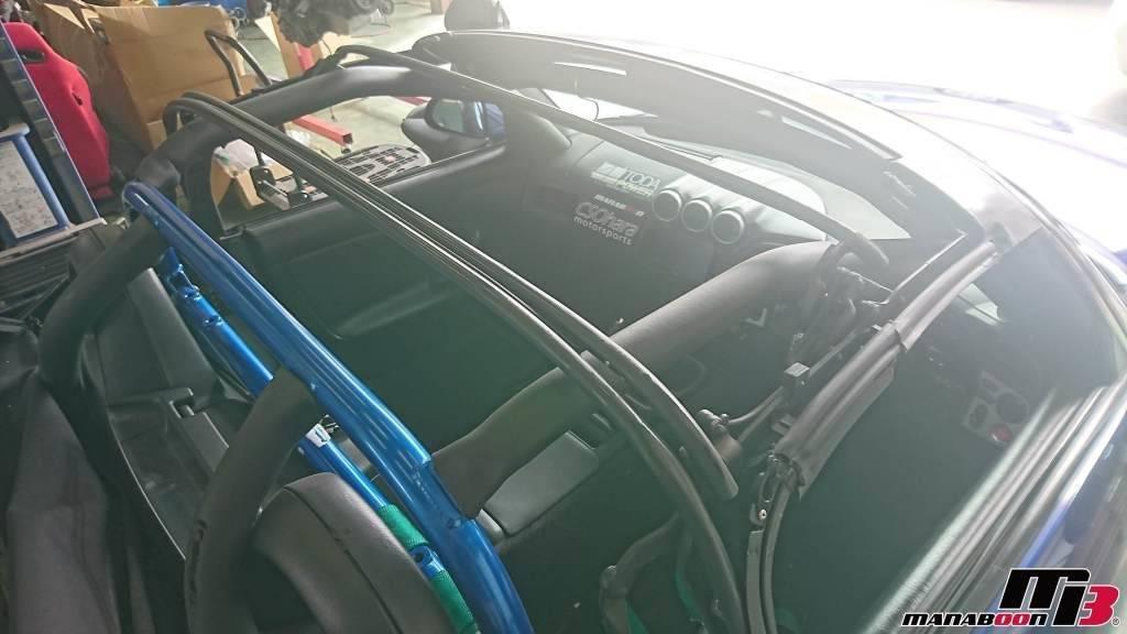 S2000(AP1)幌取り外し画像