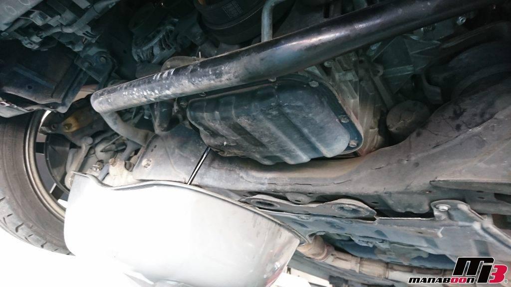 フェアレディZ(Z33)エンジンオイル交換画像