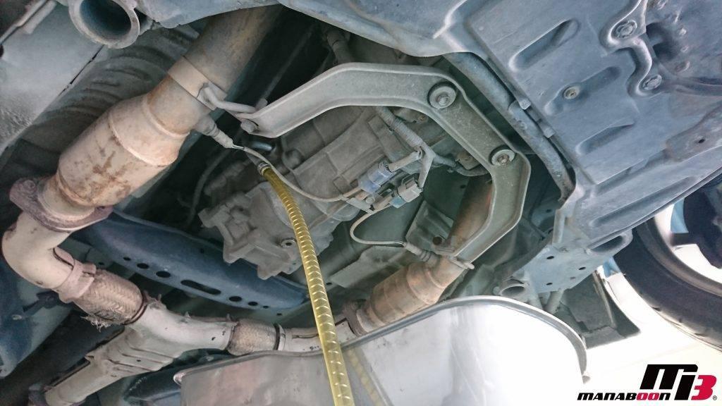フェアレディZ(Z33)ミッションオイル交換画像