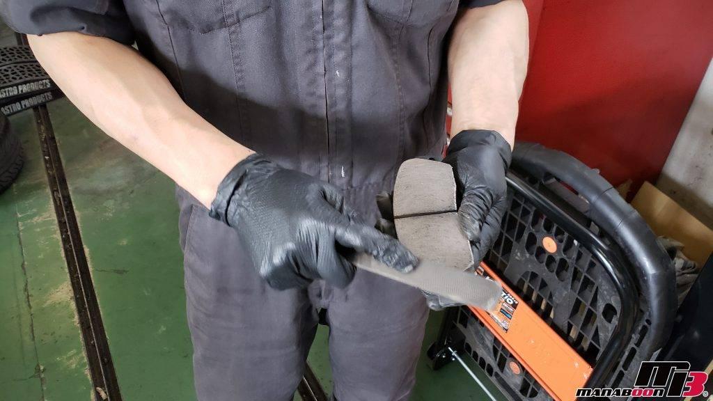 シビック(EK9)ブレーキパッド交換画像