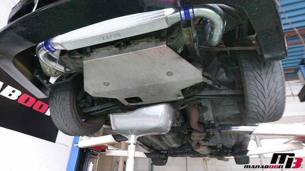 180SX(RPS13)エンジンオイル交換画像