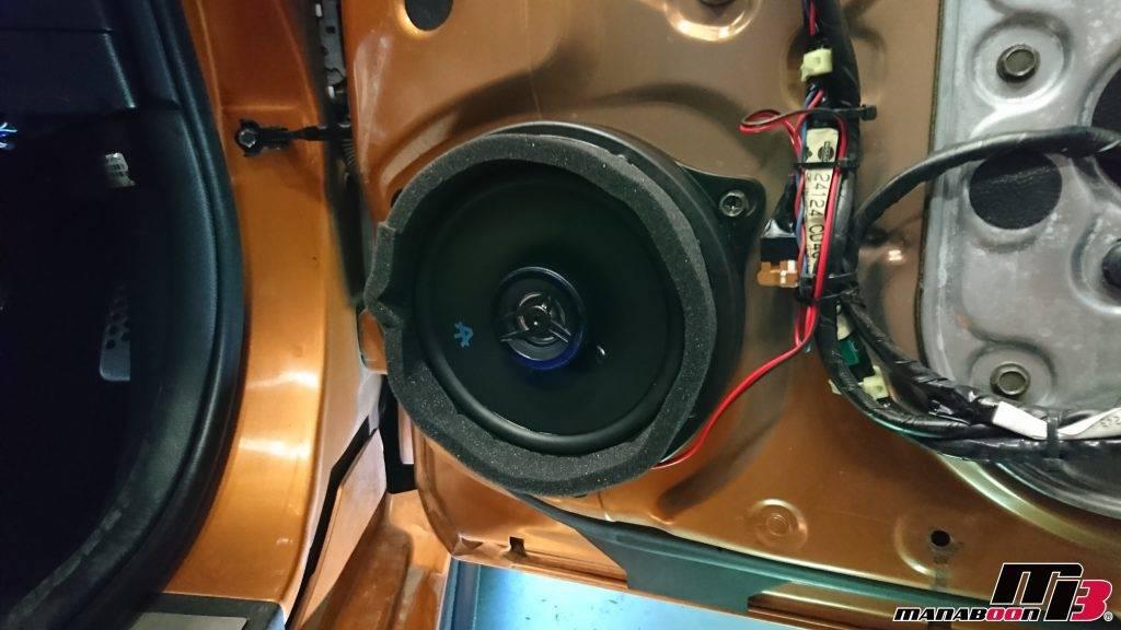フェアレディZ(Z33)スピーカー交換画像