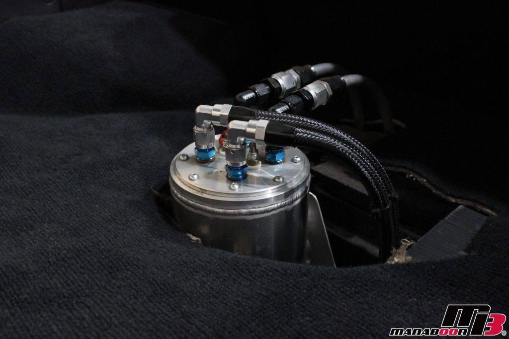 スープラRZ(JZA80)コレクタータンク装着画像