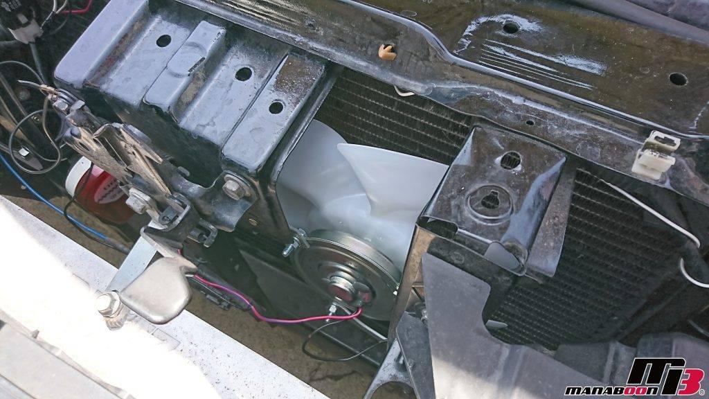 シルビア(S14)エアコン修理画像