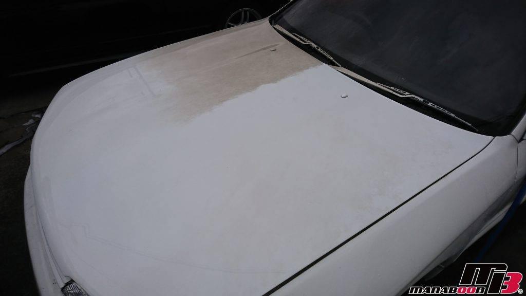 スカイラインGT-R(BNR32)不動車洗車画像