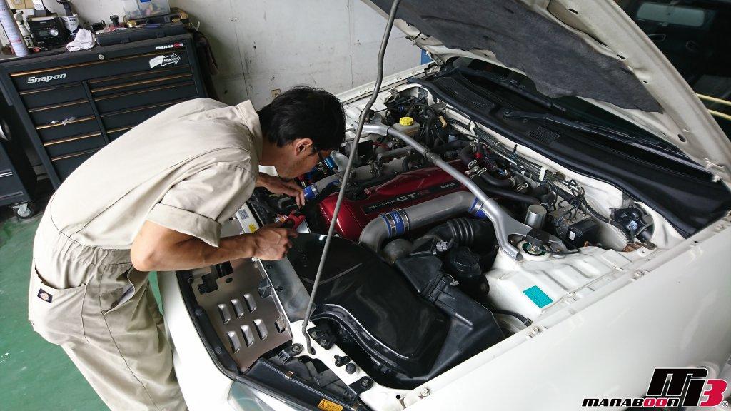 スカイラインGT-R(BNR34)点検整備画像