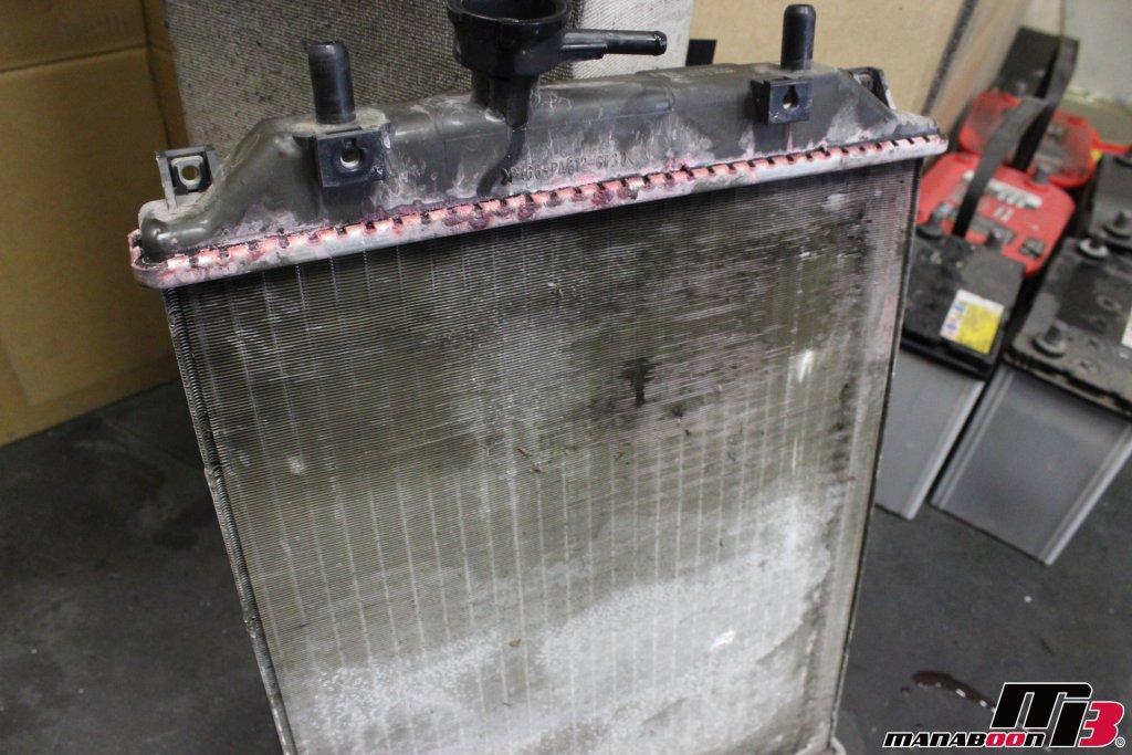 ムーブ(L150S)ラジエター交換画像