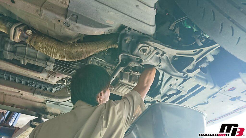 S2000(AP1)エンジンオイル交換画像
