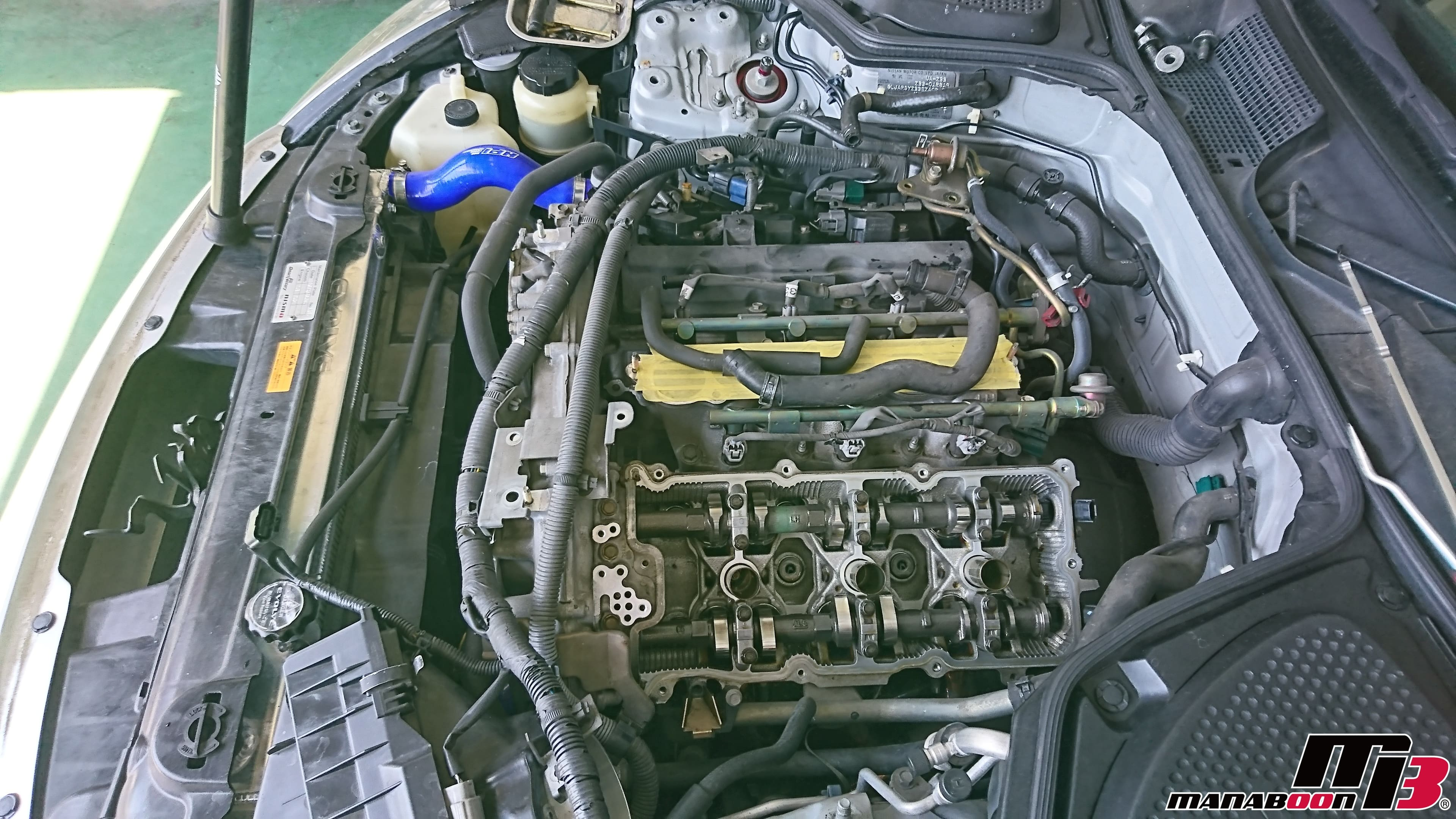 フェアレディZ(Z33)ヘッドカバーパッキン交換画像