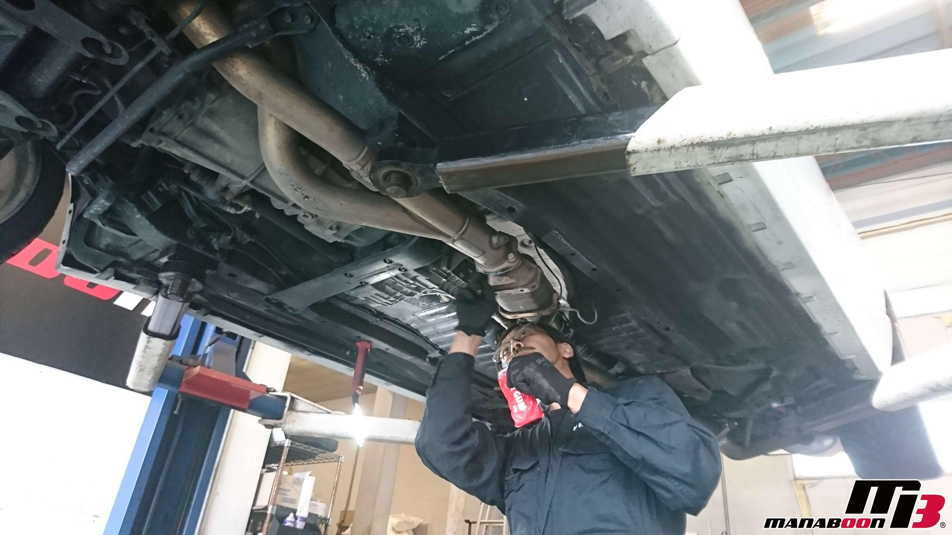 スカイラインGT-R(BCNR33)車検点検整備画像