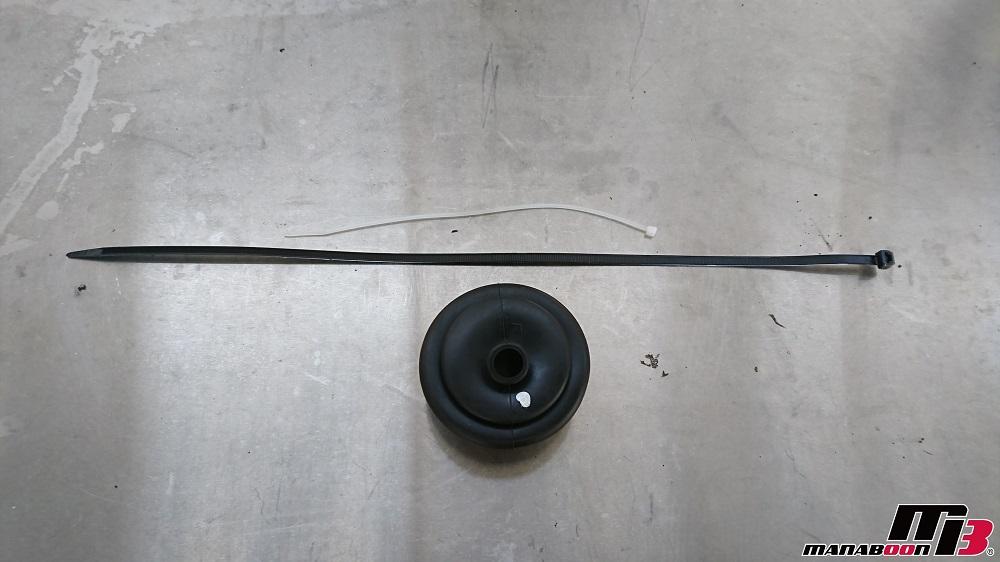 スカイラインGT-R(BCNR33)シフトインナーブーツ交換画像