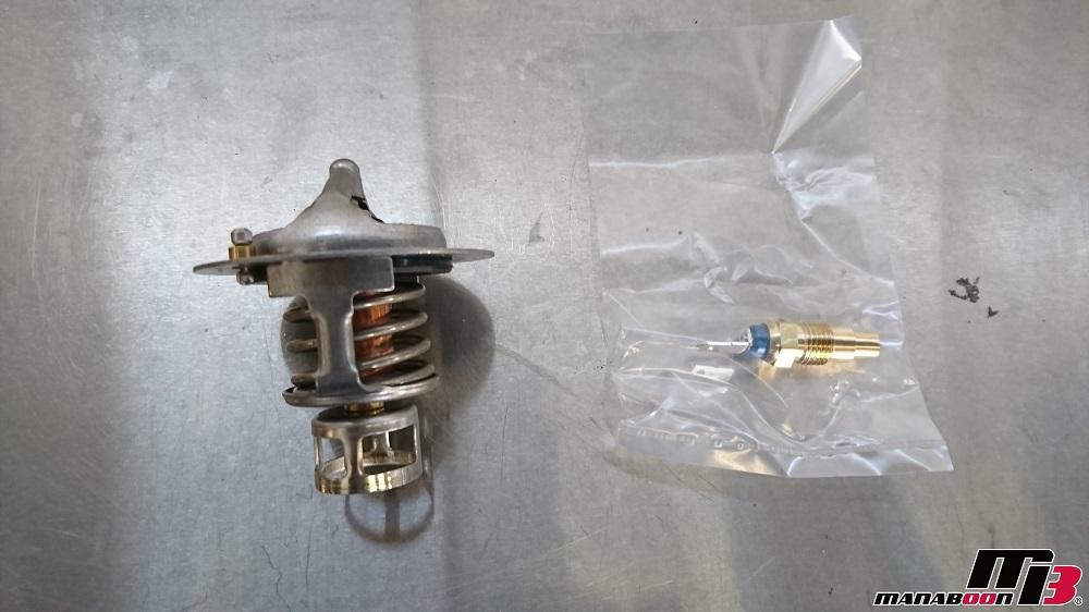 スカイラインGT-R(BCNR33)サーモスタット交換画像