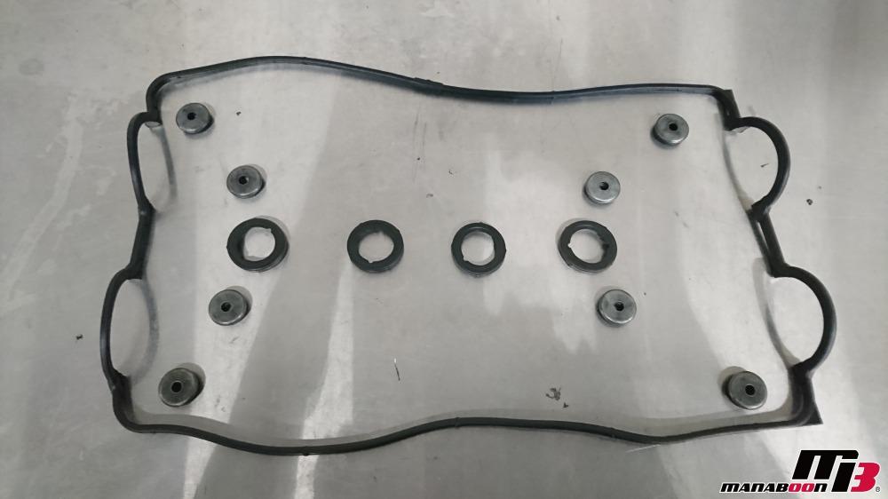 シビック(EG6)ヘッドカバーパッキン交換画像