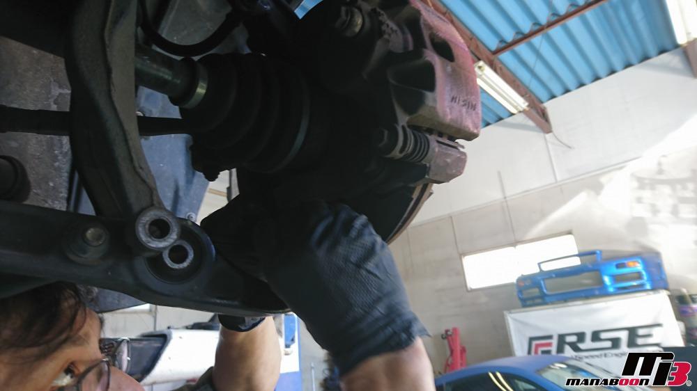 シビック(EG6)ボールジョイントブーツ交換画像