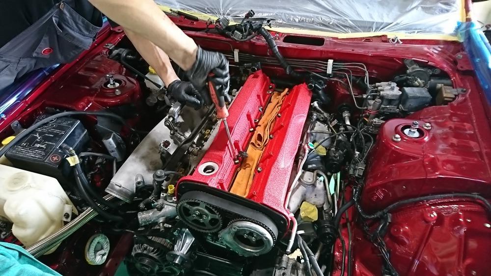 RB26DETTエンジンオーバーホール画像