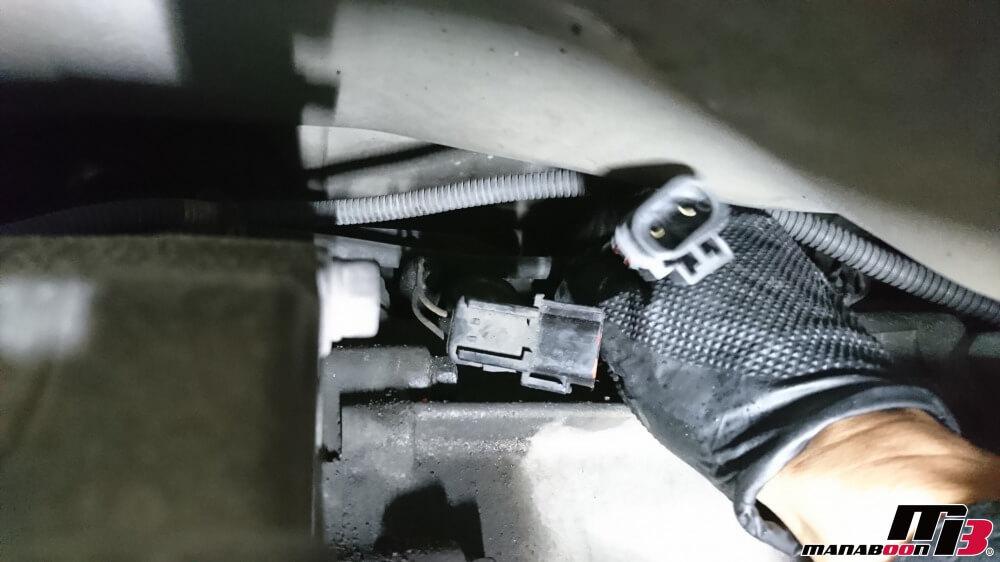 スカイラインGT-R(BCNR33)バックランプ不灯修理画像