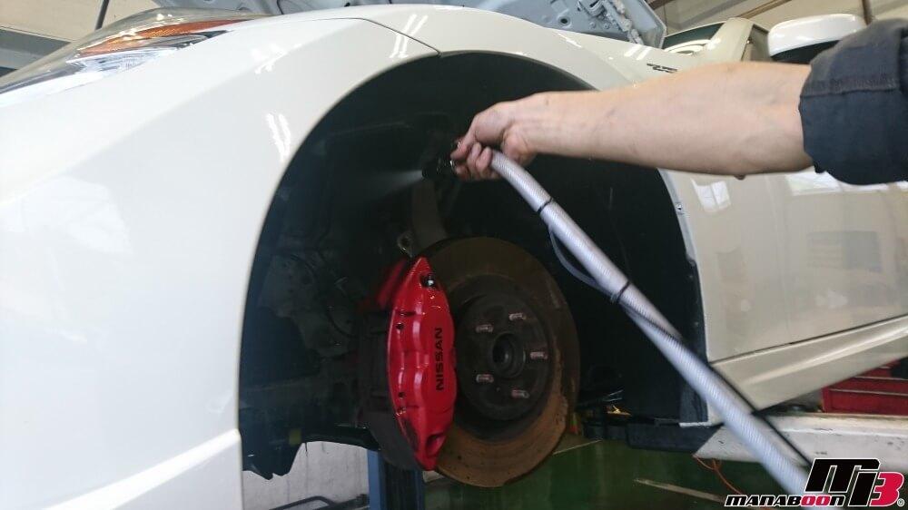 フェアレディZ(Z34)車体洗浄の画像
