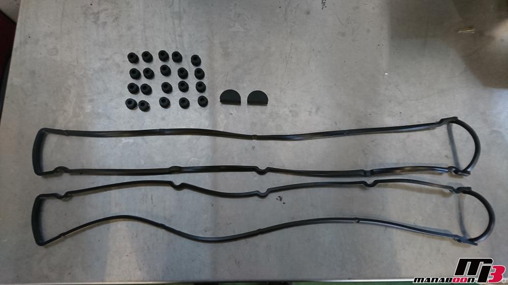 スカイラインGT-R(BNR32)タペットカバーパッキン交換画像