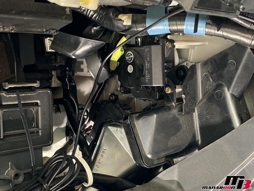 アルテッツァ(SXE10)エアコン異音修理画像