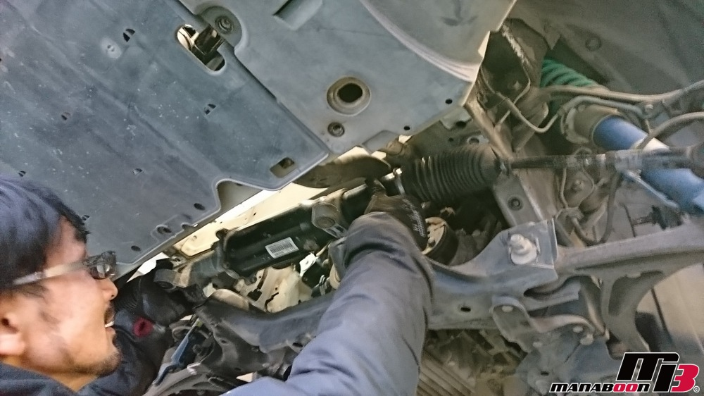 S2000(AP1)パワステ修理画像