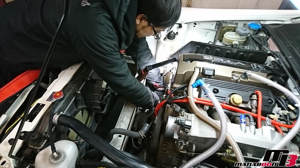 S2000(AP1)EPSチェックランプ点灯修理画像