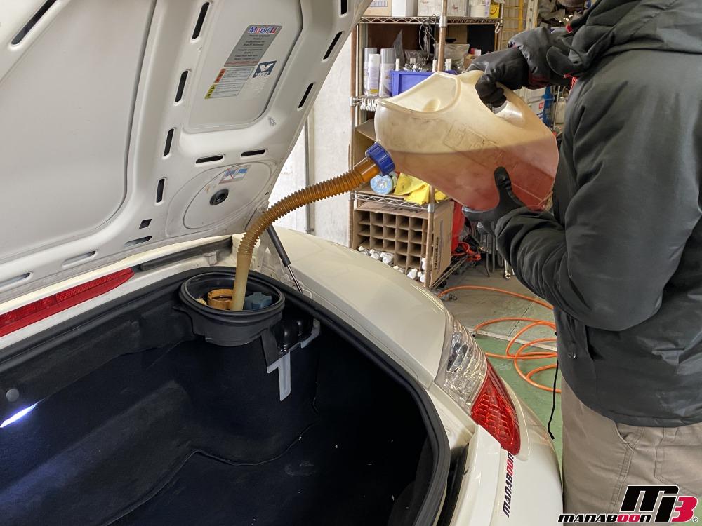 ボクスター(986)エンジンオイル交換画像