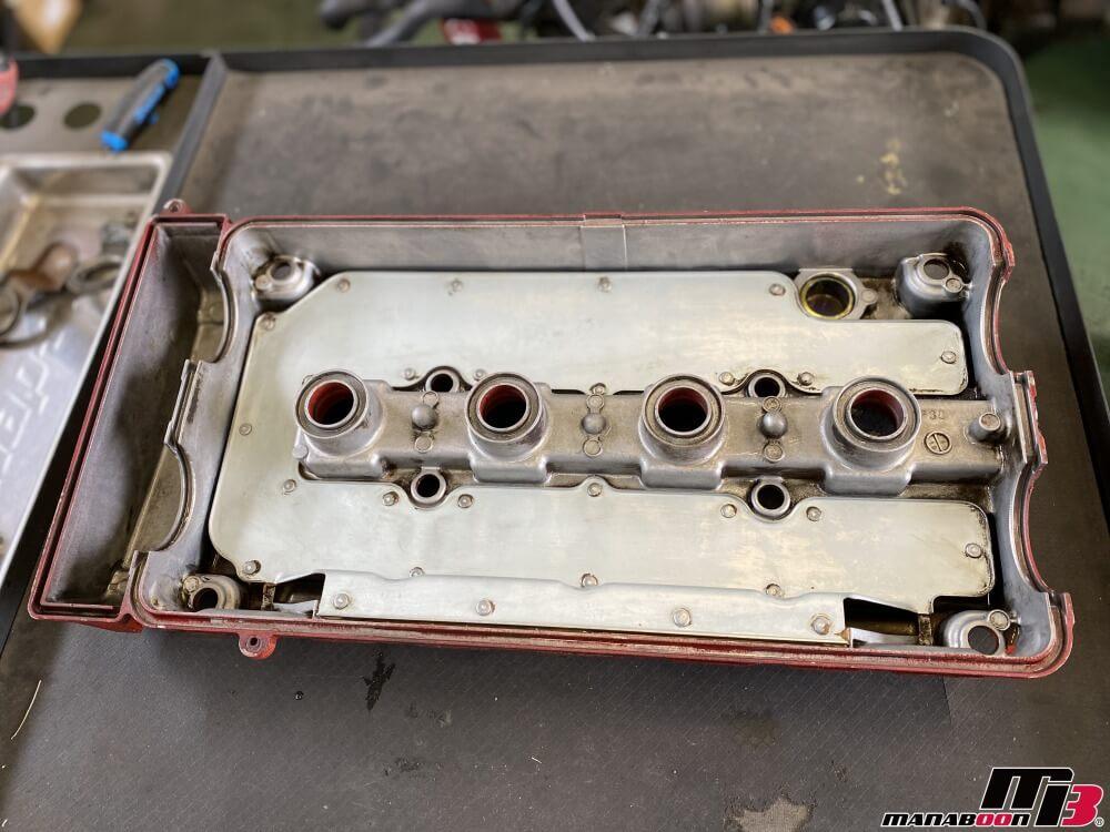 インテグラ タイプR(DC2)オイル漏れ修理画像