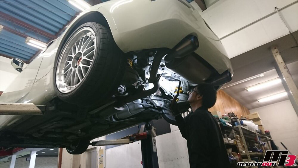 フェアレディZ(Z33)車検点検整備の作業画像