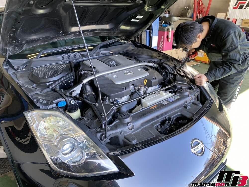 フェアレディZ(Z33)車検整備の作業画像