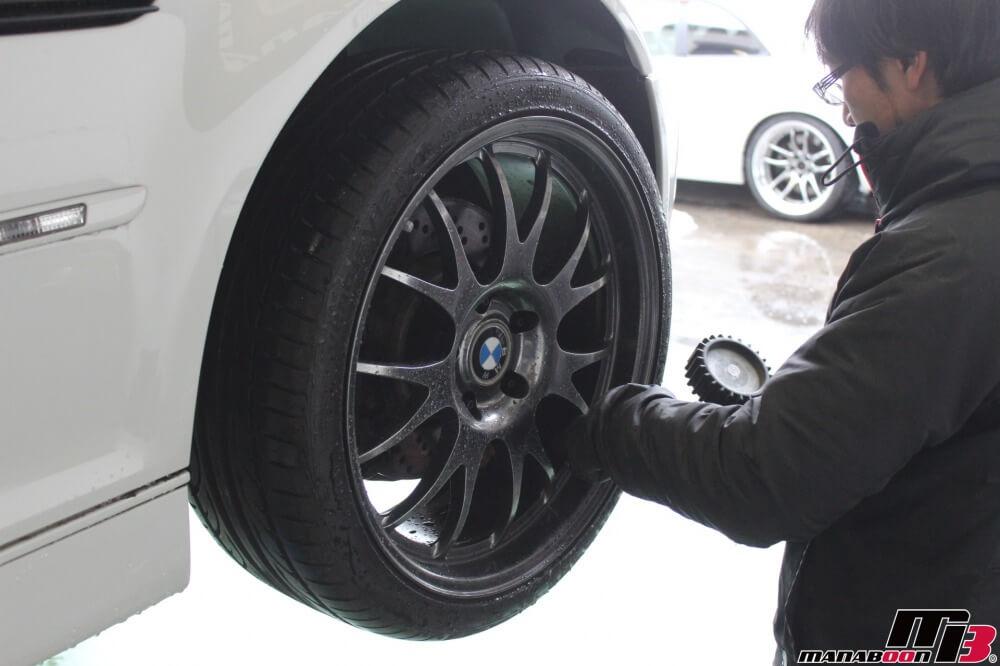 BMW M3(E46)点検整備作業の画像