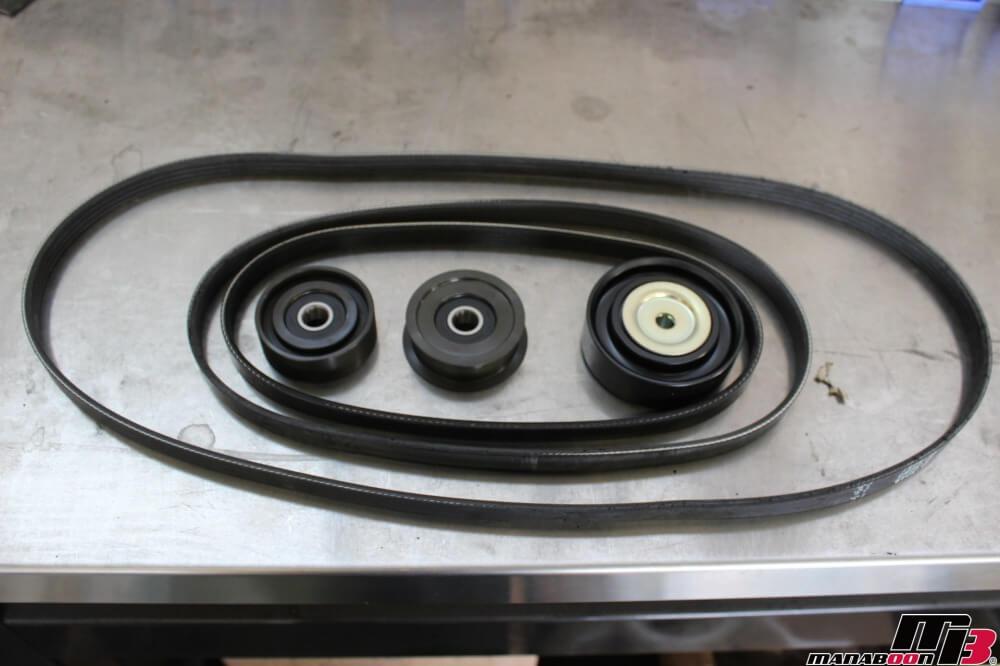 アルテッツァ(SXE10)ベルト廻り異音修理作業の画像