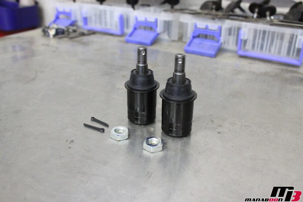 スカイラインGT-R(BCNR33)ハイキャスエンド交換作業の画像