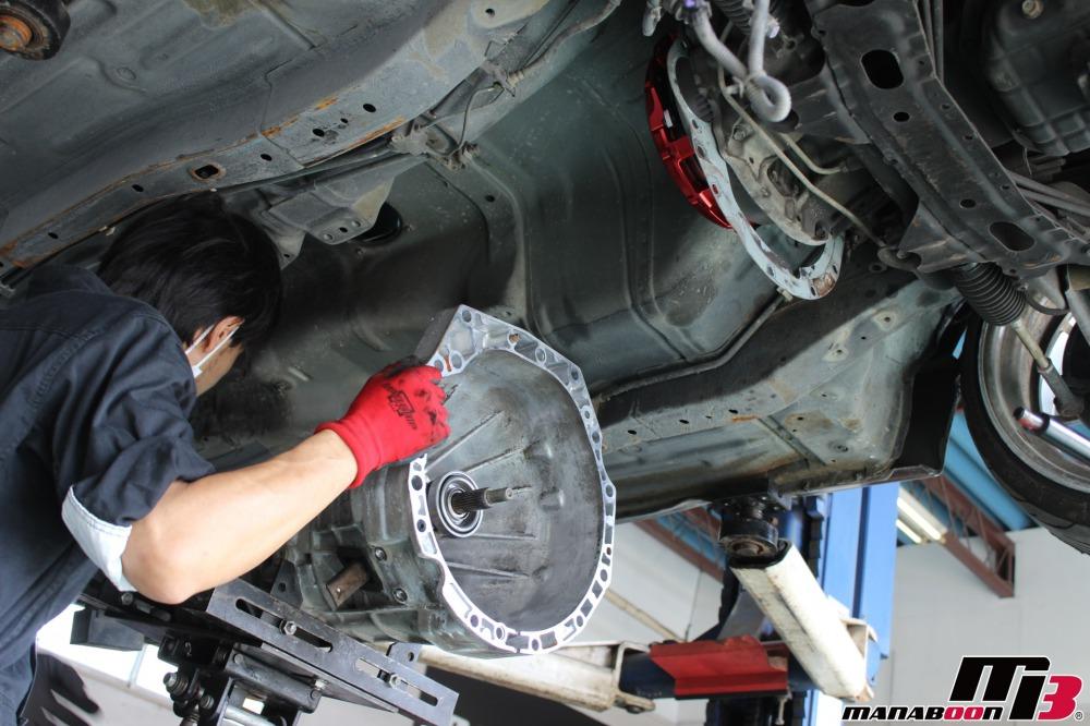 シルビア(S15)クラッチ交換作業の画像