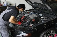 GTO納車前の点検整備作業の画像