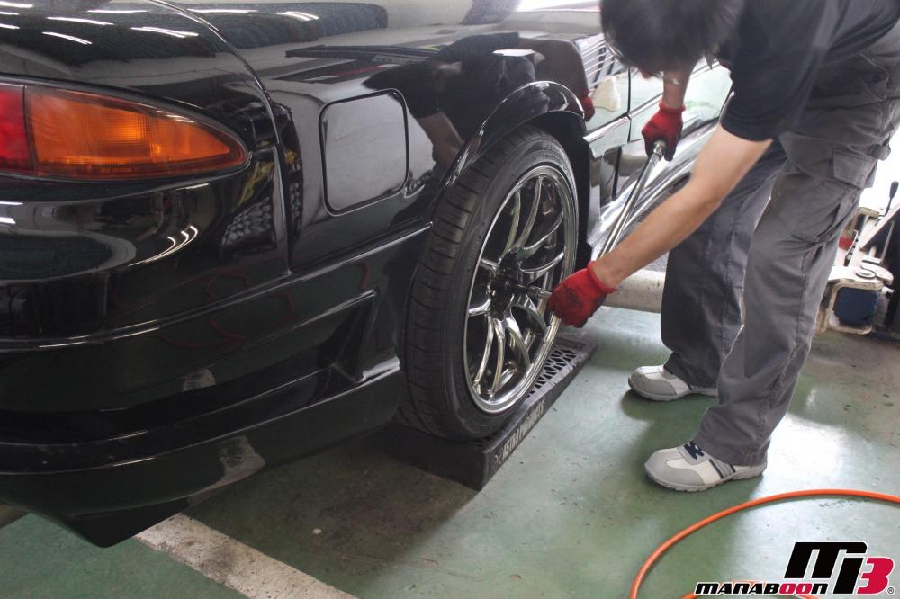 GTOの点検整備作業の画像