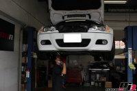E46M3車検の為の点検整備作業の画像