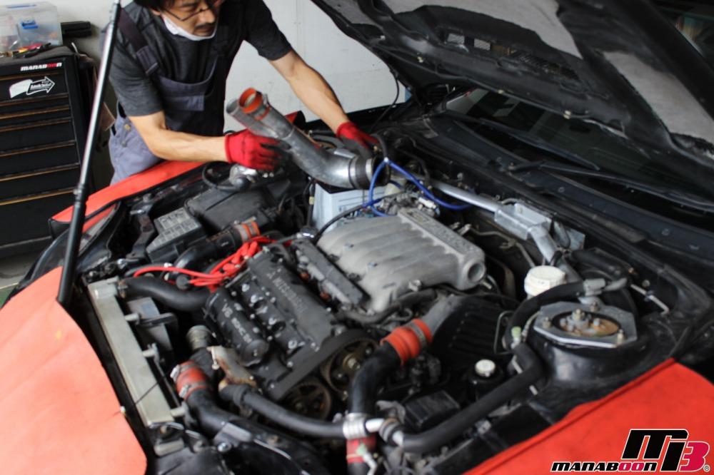GTOオイル漏れ修理作業の画像