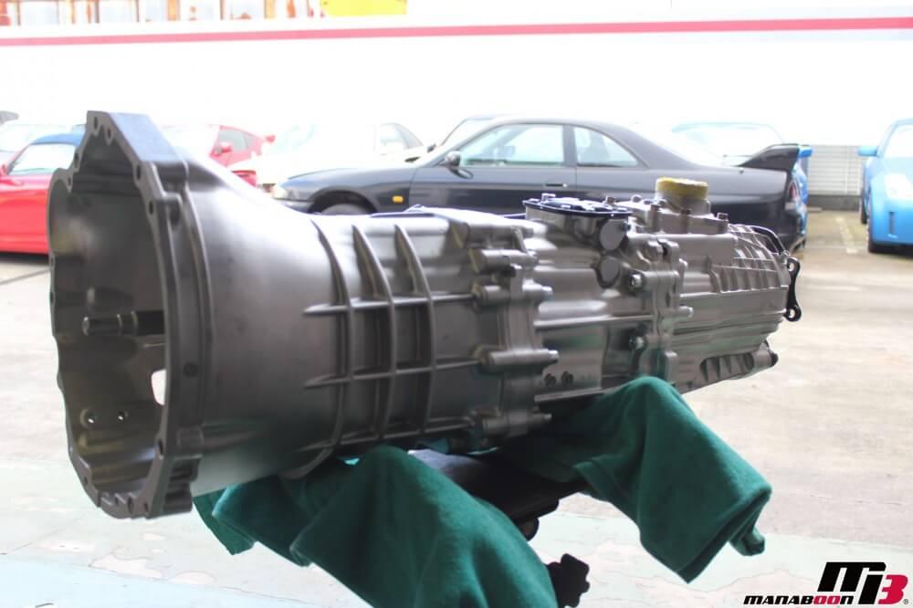 スカイラインGT-Rオートギャラリー横浜スーパーシフトミッション690取り付け作業の画像