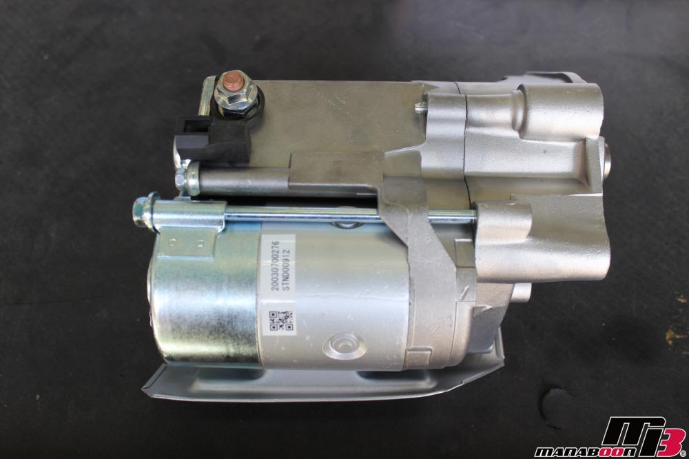 ハチロク(AE86)スターター交換作業の画像