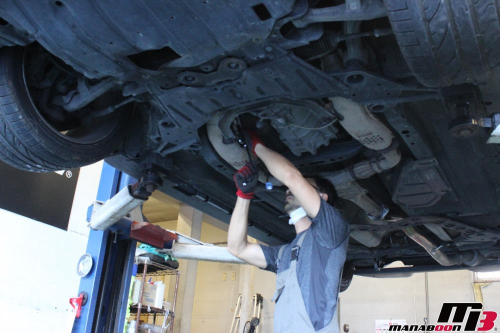 フェアレディZ(Z33)エンジンチェックランプ点灯修理作業の画像