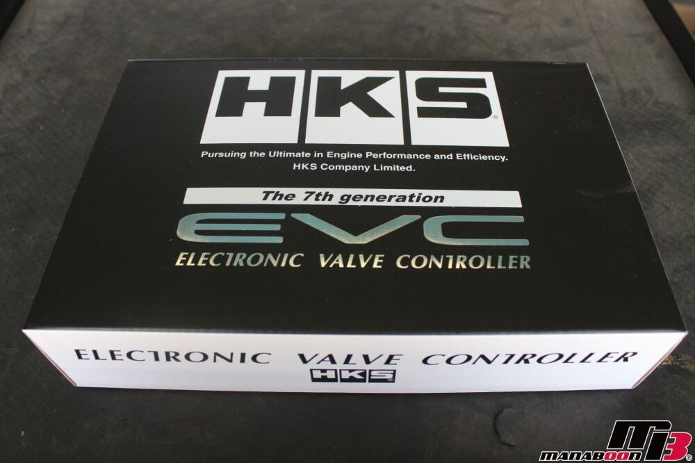 スカイラインGT-RにHKS EVC7取付作業の画像