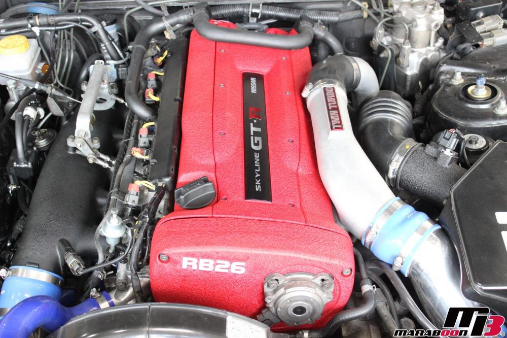 R35コイル用に加工されたプラグカバー